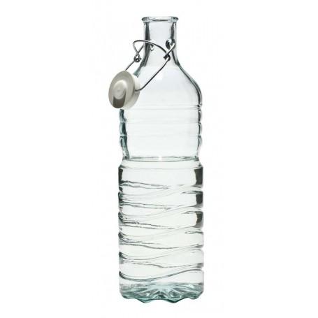Botella de cierre hermético de cristal reciclado de 1,5l.