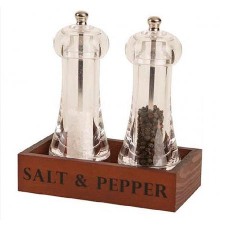 Set de molinillos de pimienta y sal
