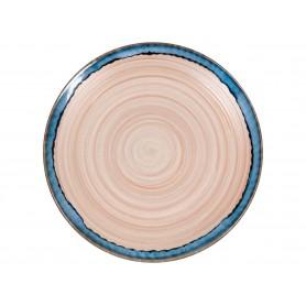 "Set de 4 platos planos ""Nature"" de Waechtersbach 20cm."