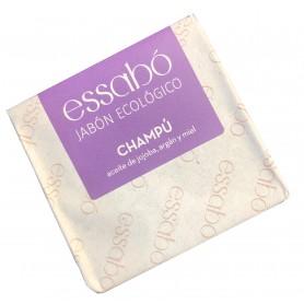 Champú eco 2 en 1 en pastilla con aceite de jojoba