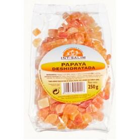 Papaya deshidratada en dados (con azúcar) 250gr