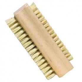 Cepillo de uñas de fibras  vegetales (2 caras)