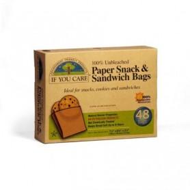 Bolsas de papel para alimentos (48ud.)