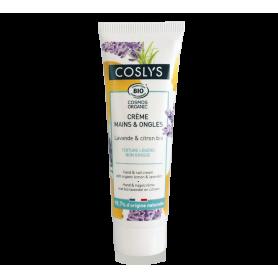 Crema de manos limon y lavanda Coslys