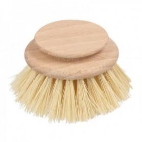 Recambio de cepillo de madera para vajilla